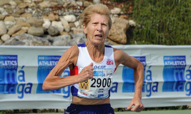 Angela Copson leads British masters challenge