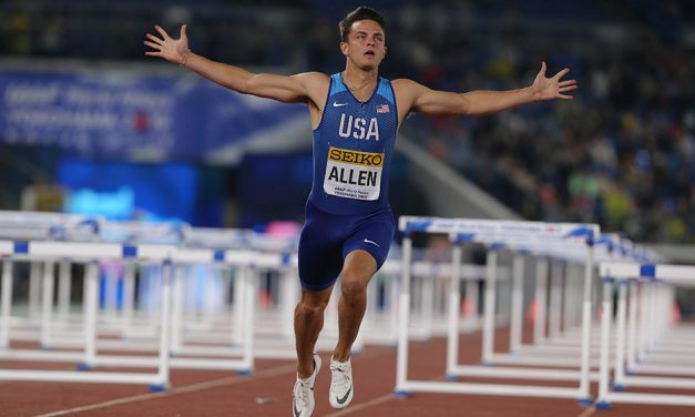 USA win at World Relays as four GB teams qualify for Doha