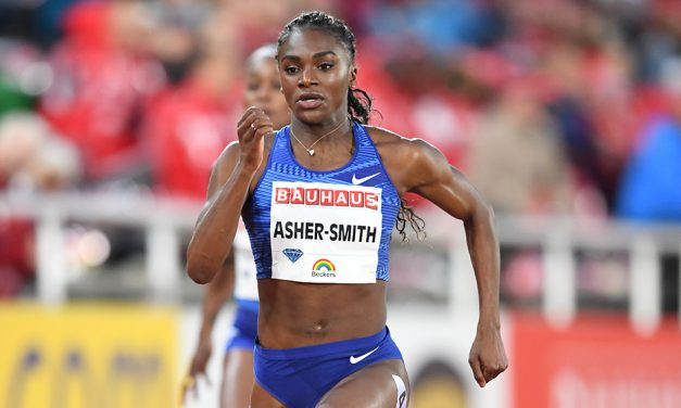 Dina Asher-Smith blasts to victory in Stockholm