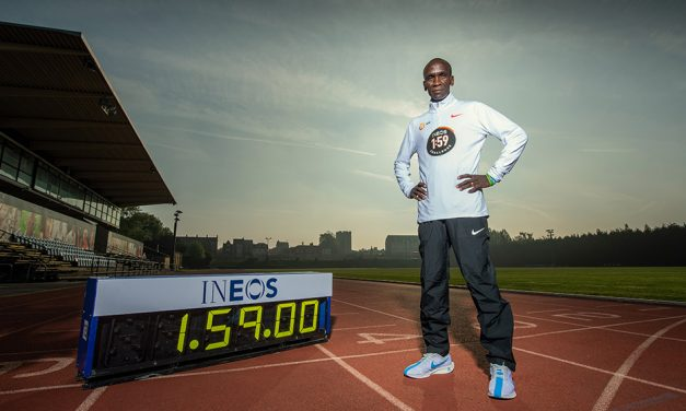 Eliud Kipchoge's date with destiny