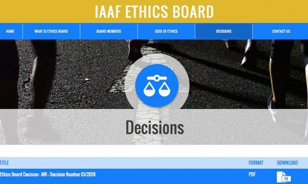 Former Kenyan athletics team manager banned by IAAF