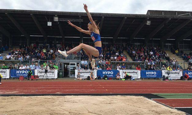 World lead for Katarina Johnson-Thompson in Gotzis