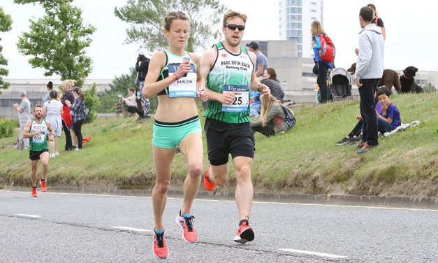 Tracy Barlow and Matt Clowes retain Swansea Half titles