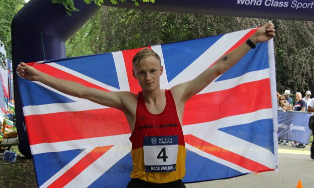 Callum Wilkinson storms to British race walking title – weekly round-up