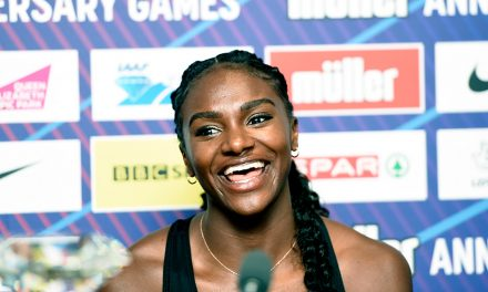 No fear from Dina Asher-Smith as she prepares to 'step into the lights'