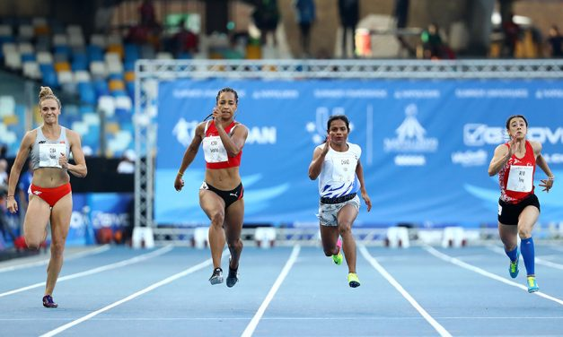 Dutee Chand and Paulo André Camilo win 100m titles at World University Games
