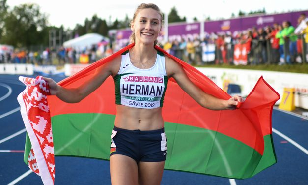Elvira Herman wins European U23 100m hurdles title in record time