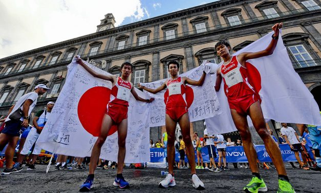 Japan wins six medals on streets of Naples at World University Games