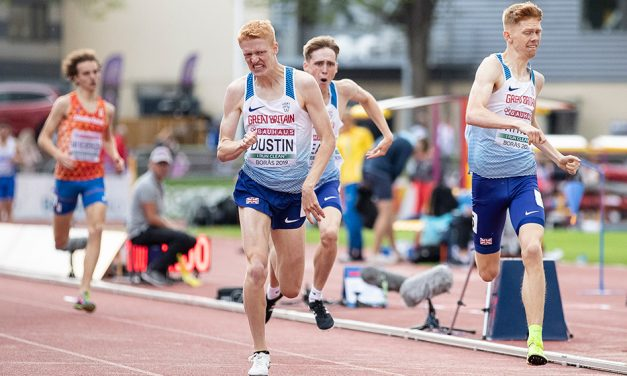 Oliver Dustin and Isabelle Boffey set for Manchester International