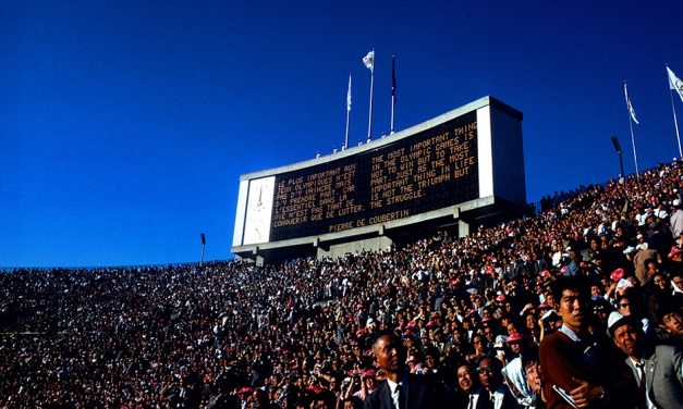 Day-by-day diary of the Tokyo 1964 Olympics