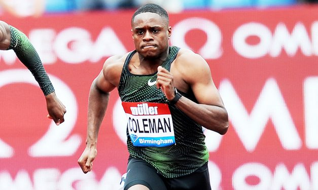 Two-year ban rules Christian Coleman out of Tokyo