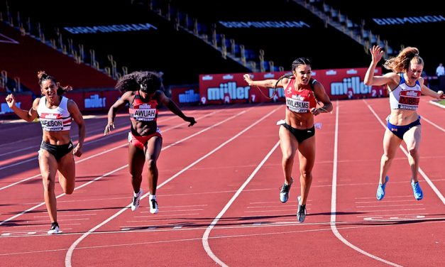 Jodie Williams and Eilish McColgan storm to British title wins