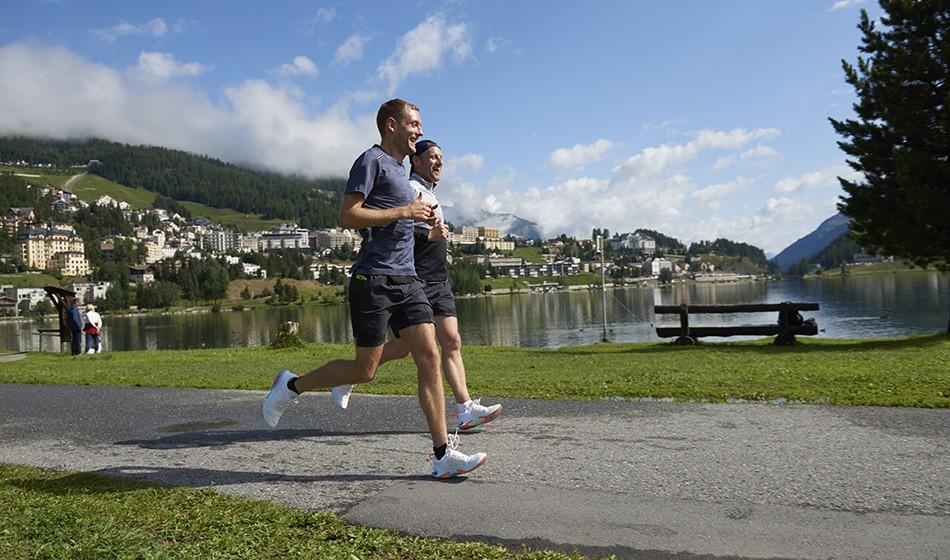 St Moritz – a runner's paradise