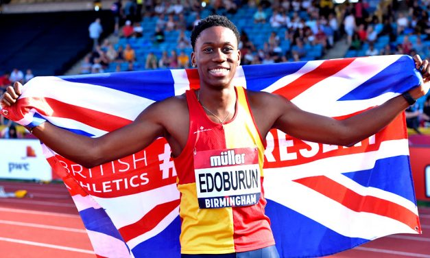 Ojie Edoburun pips rivals to British 100m title