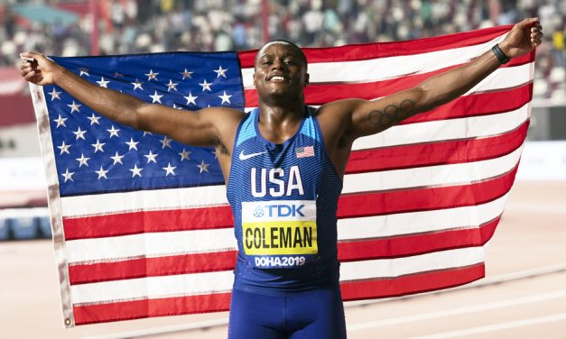 Christian Coleman: I want Olympic gold more than anyone else
