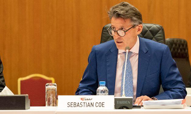 Seb Coe becomes IOC member
