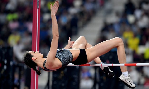 High jump hat-trick for Mariya Lasitskene in Doha