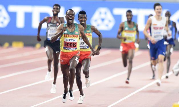 Ethiopian one-two as Ingebrigtsen 5000m challenge falters