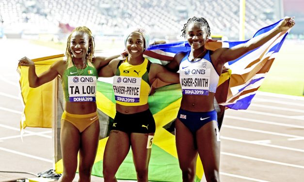 Asher-Smith makes history as Fraser-Pryce returns to sprinting summit