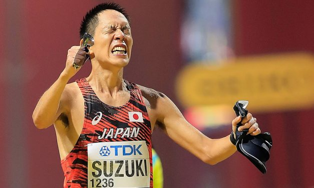 Yusuke Suzuki and Liang Rui win world 50km walk titles