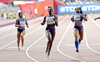 Dina Asher-Smith ascends to the throne of world sprinting