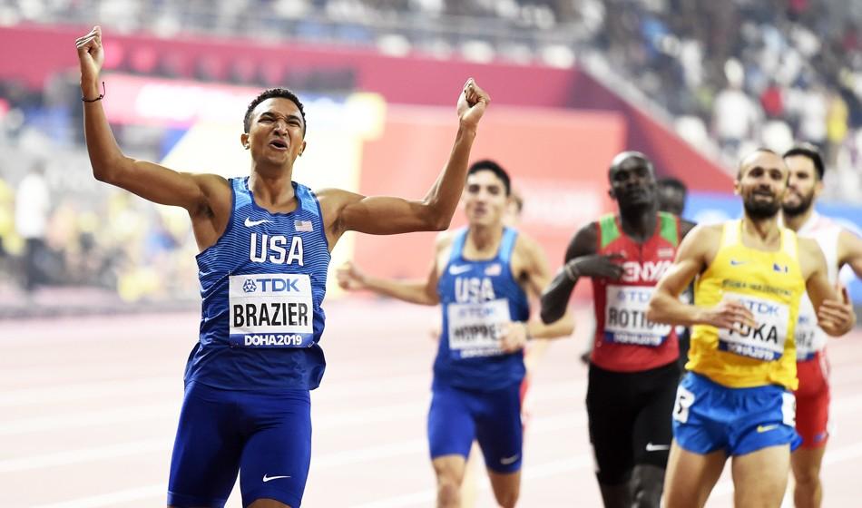 Donavan Brazier keen to prove that 2019 was no fluke