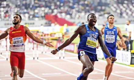 Grant Holloway ready for fast time in Madrid