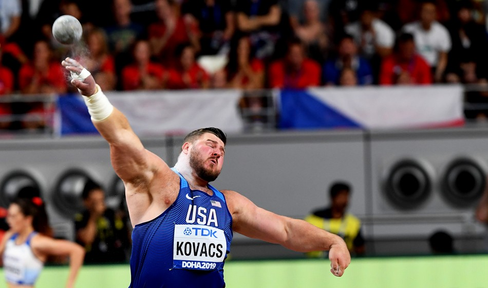 Joe Kovacs wins greatest ever shot competition