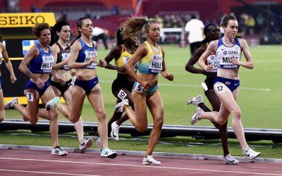 Laura Muir given a stern semi-final test in Doha