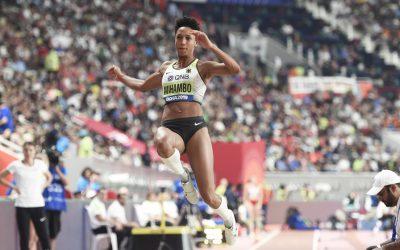 Malaika Mihambo produces third best long jump in world champs history