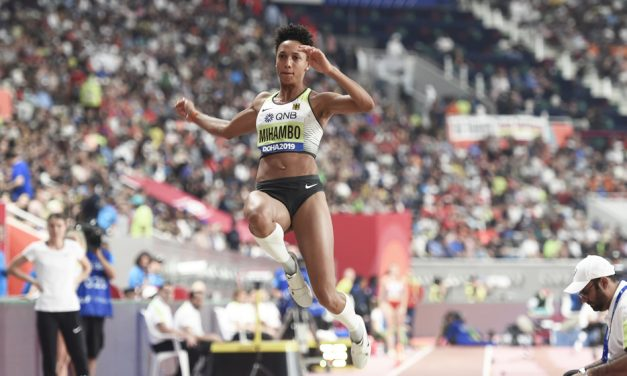 Malaika Mihambo produces third best long jump in world champs history
