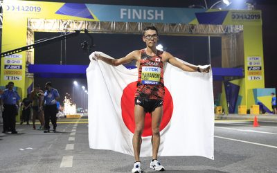 Japanese walks double as Britain's Tom Bosworth excels