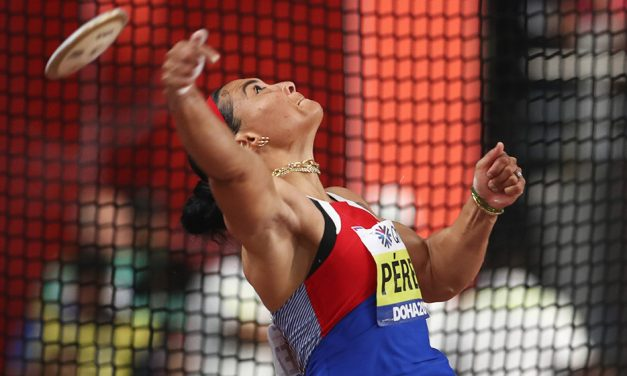Cuban one-two dominate discus