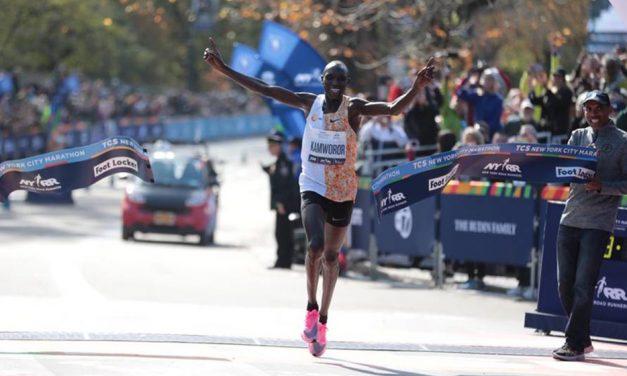 Joyciline Jepkosgei and Geoffrey Kamworor win in New York