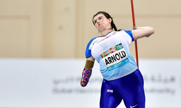 Hollie Arnold wins fourth world javelin gold in Dubai