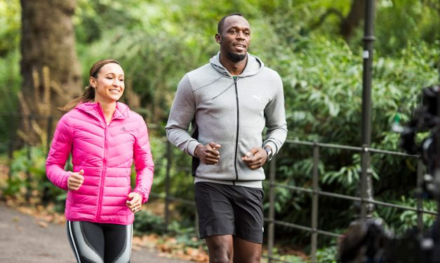 Jessica Ennis-Hill and Usain Bolt help launch 2020 Running World Cup
