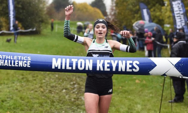 Kate Avery and Mahamed Mahamed win Milton Keynes Cross Challenge