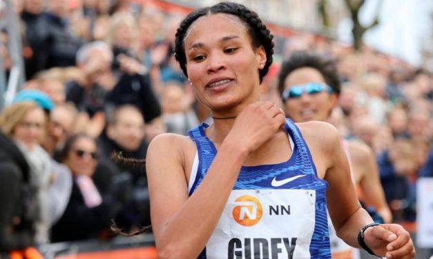 Letesenbet Gidey smashes world 15km record
