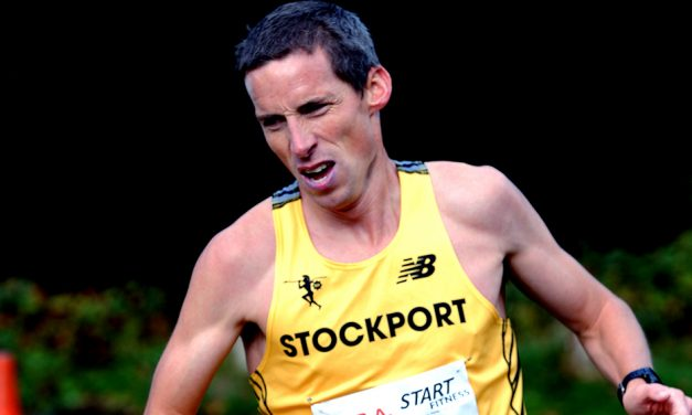 Andrew Davies on his British M40 marathon record