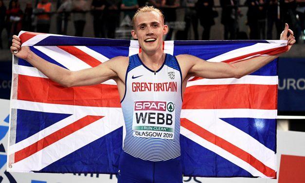 Jamie Webb eyes another slice of 800m history
