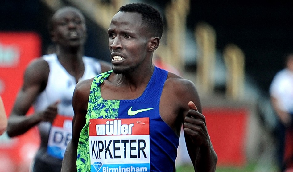 Alfred Kipketer suspended for 'whereabouts failures'
