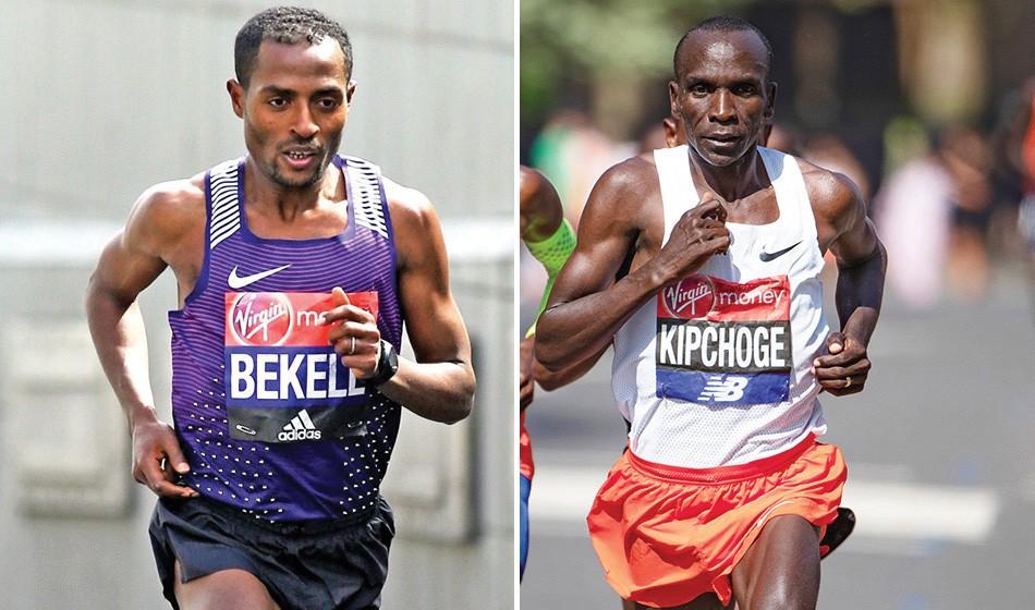 Kipchoge, Bekele and Kosgei lead London Marathon fields