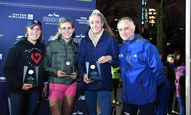 Eilish McColgan wins NYRR Midnight Run