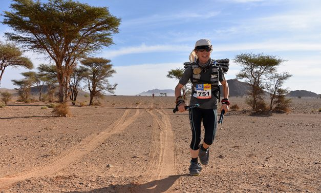 Fiona Oakes, a runner with a cause