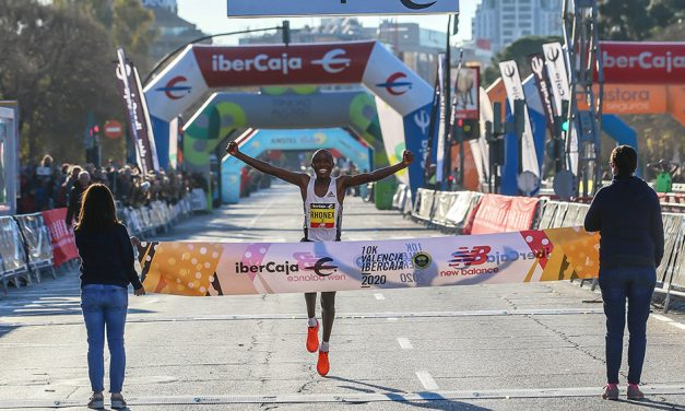 Rhonex Kipruto breaks world 10km record in Valencia