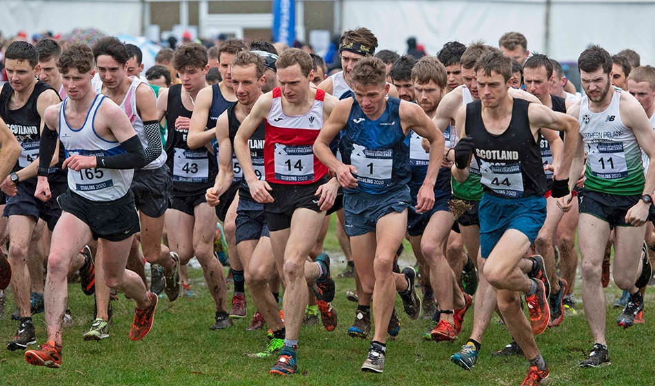 Kris Jones and Kate Avery beat the weather to win senior titles in Stirling