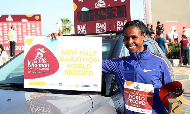 Stellar fields for Ras Al Khaimah Half