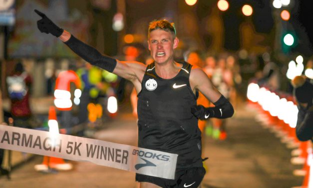 Adam Clarke and Anna Emilie Møller lead fast times in Armagh