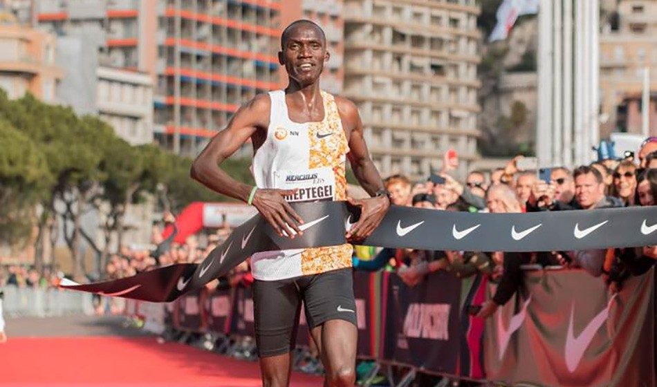 Joshua Cheptegei smashes world 5km record in Monaco