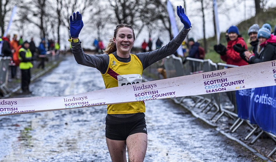 Mhairi Maclennan retains Scottish cross-country crown